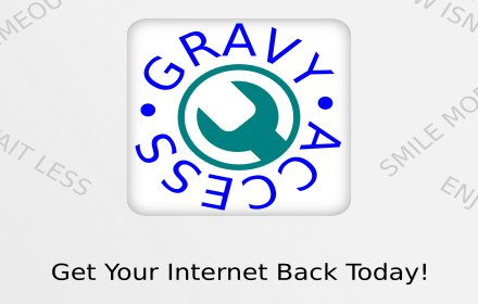 GravyAccess - Don't be Blocked!插件截图