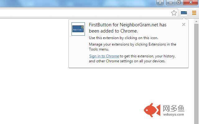 FirstButton for NeighborGram插件截图