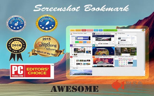 Screenshot Bookmark
