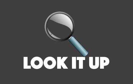 LookItUp插件截图