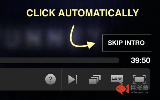 Netskip: Auto skip intro on netflix!