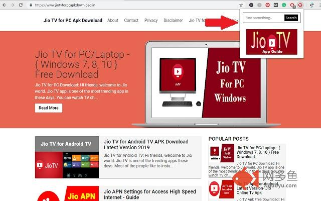 Jiotv for PC-Apps Guide插件截图