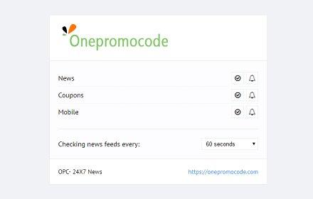 OPC Coupons & Tech News插件截图