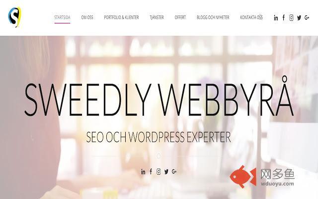 Sweedly Webbyrå插件截图