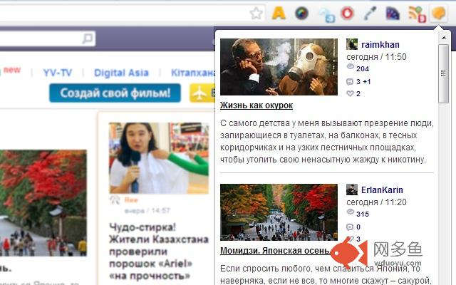 Yvision.kz插件截图