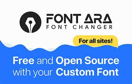 FontARA Font Changer插件截图