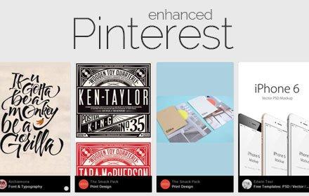 Pinterest Enhanced插件截图