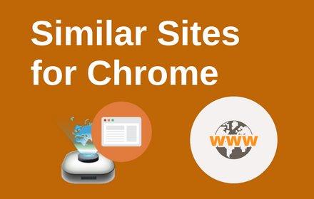 Similar Sites for Chrome插件截图