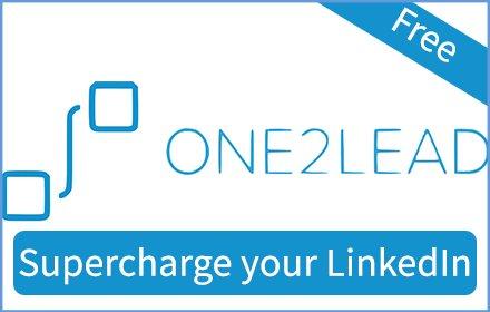 One2Lead - One-stop LinkedIn automation tool插件截图