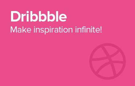 Dribbble. Infinite.插件截图