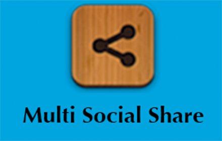 Multi Social Share插件截图