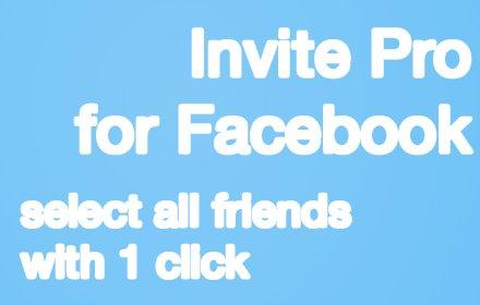 Invite All Your Facebook Friends PRO插件截图