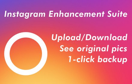 IGES - Instagram Enhancement Suite插件截图
