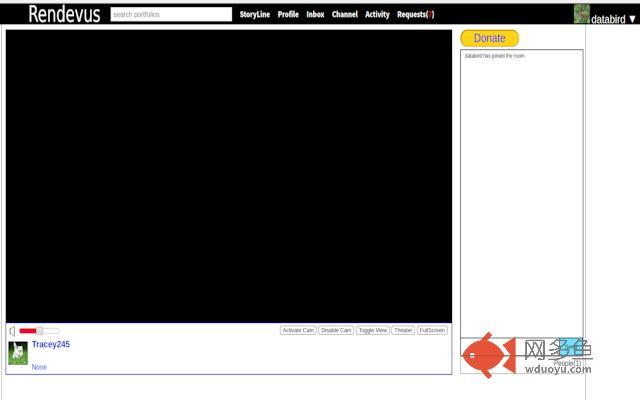 Rendevus Video Screen sharing插件截图