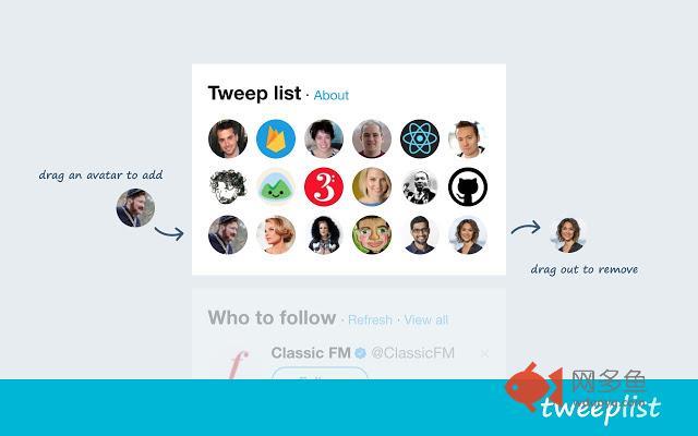 Tweep List for Twitter