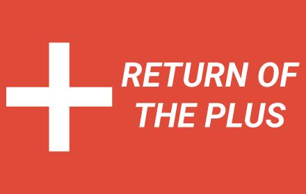 Return of the Plus插件截图