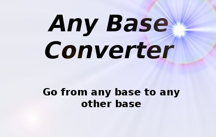 Any Base插件截图