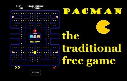 Pacman - a pack of 3 pacman heritage games插件截图