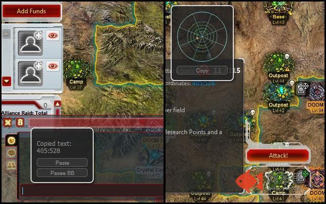 Command & Conquer TA Coordinates Utility插件截图