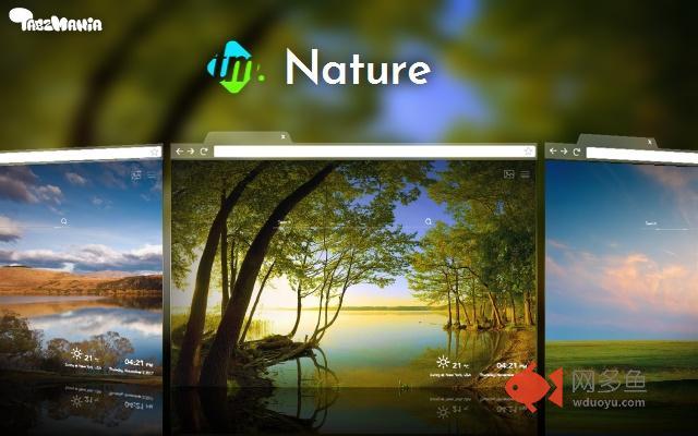 Beautiful Nature New Tab Wallpapers