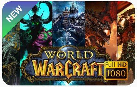 World Of Warcraft New Tab插件截图