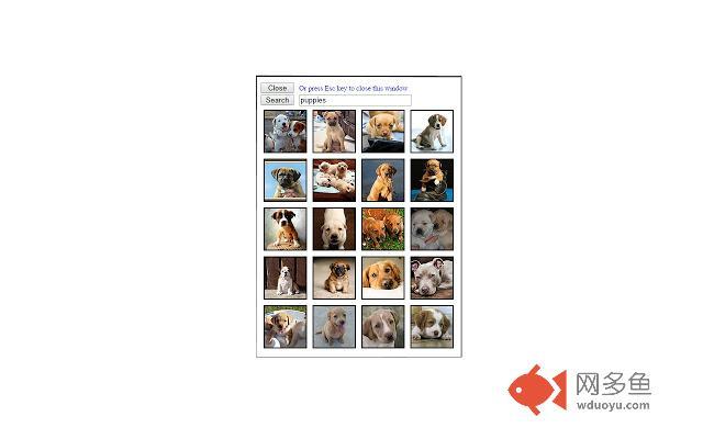 Flickr Photo Search插件截图