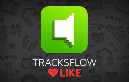 Tracksflow Audio Player Like插件截图