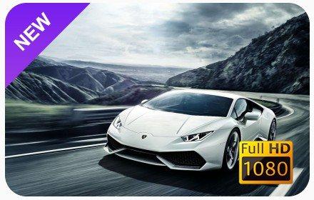 Lamborghini New Tab & Wallpapers Collection插件截图