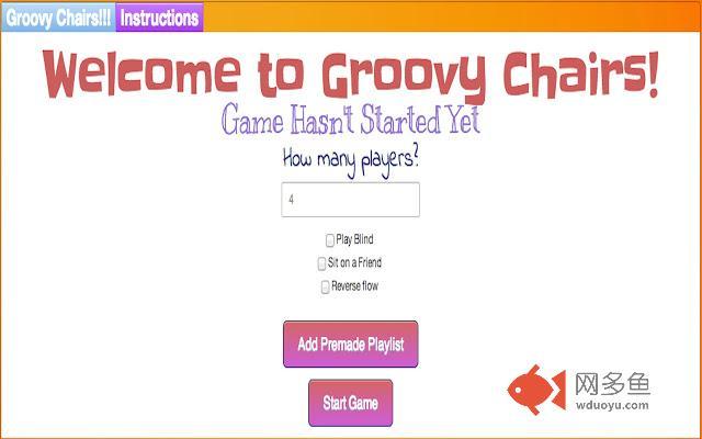 Grooveshark Groovy Chairs插件截图