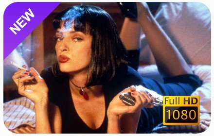 Pulp Fiction New Tab & Wallpapers Collection插件截图
