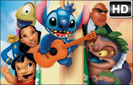 Lilo And Stitch HD Wallpaper Disney New Tab插件截图