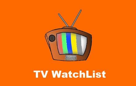 TV WatchList插件截图