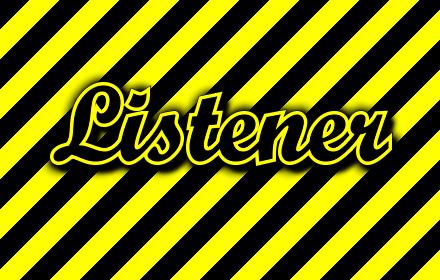 Listener插件截图
