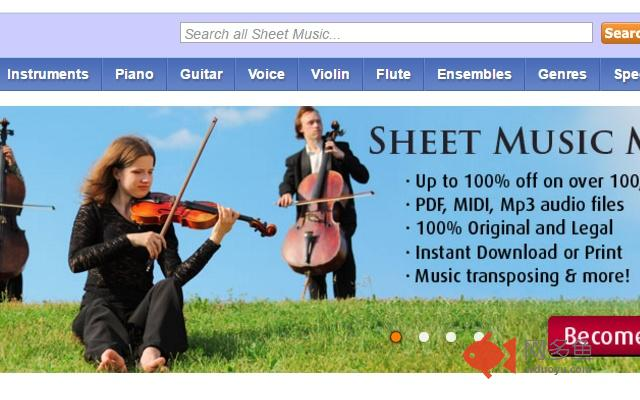 Virtual Sheet Music插件截图