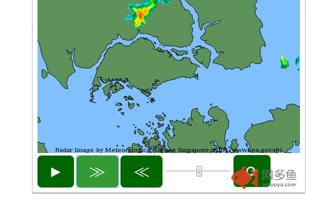 Singapore NEA Rain Areas Animation插件截图