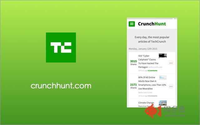 CrunchHunt Chrome Extension插件截图