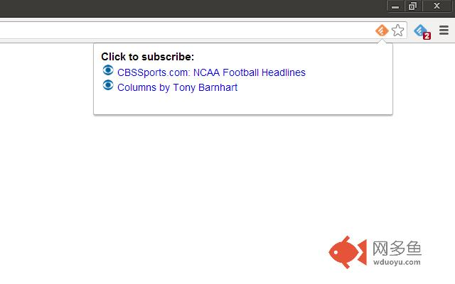 Feedly Subscriber插件截图