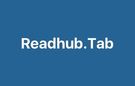 Readhub.Tab插件截图