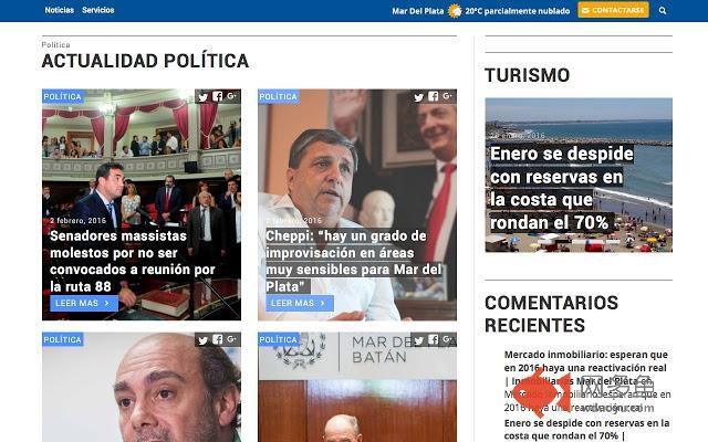 Noticias de Mar del Plata - Puntonoticias.com插件截图
