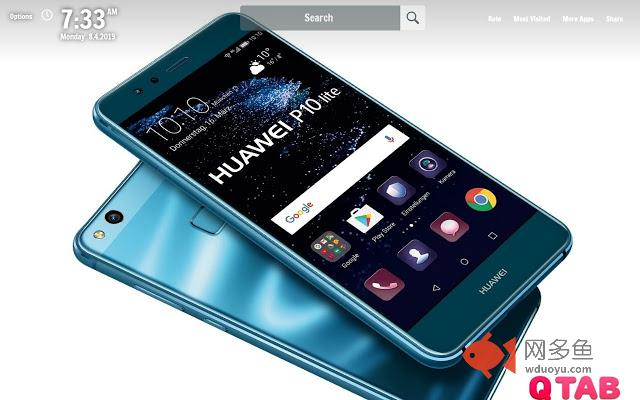 Huawei New Tab Huawei Wallpapers插件截图