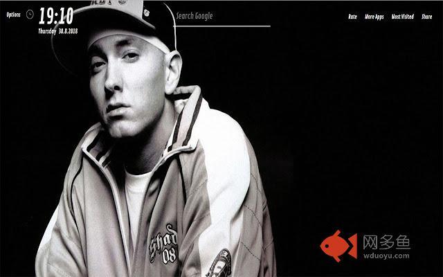 Eminem HD Wallpapers for NewTab插件截图