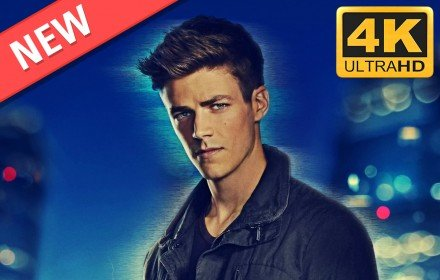 Grant Gustin HD Wallpapers The Flash Theme插件截图