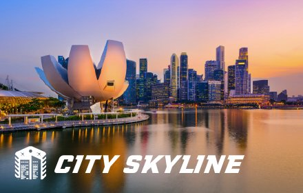 City Skyline HD Wallpapers New Tab Theme插件截图