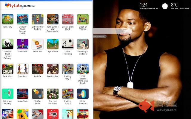 Will Smith Wallpapers HD New Tab插件截图