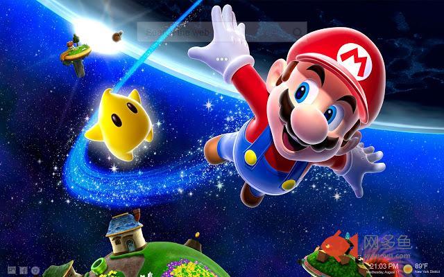 Mario Themes HD NewTab