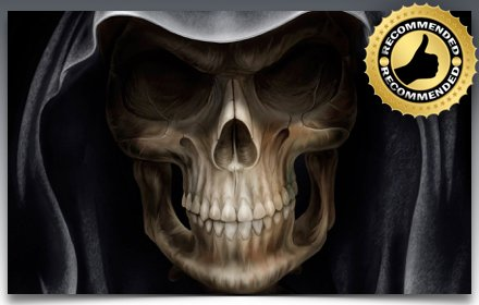 *NEW* HD Skulls Wallpapers New Tab Theme插件截图
