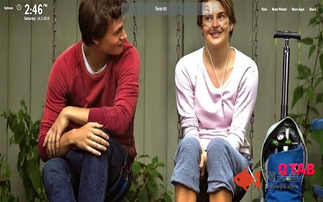 Fault in our Stars New Tab Wallpapers