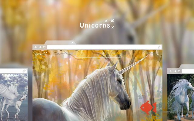 Unicorns - Magic Horse HD Wallpaper