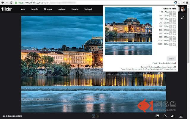 Flickr Photos Download插件截图