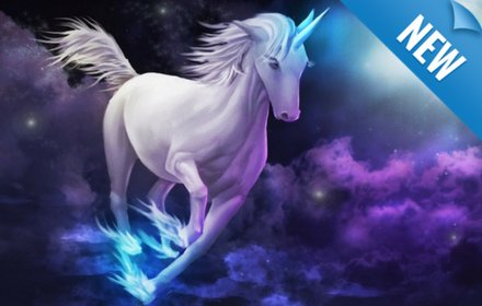 Unicorn New Tab Page插件截图